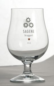 Sagene Ølglass- Goblet-glass