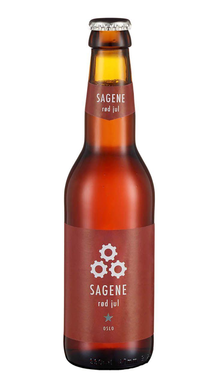 Sagene Rød Jul øl